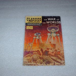 1954 The War of the Worlds Classics Illustrated
